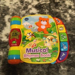 V-Tech Musical Rhymes Book